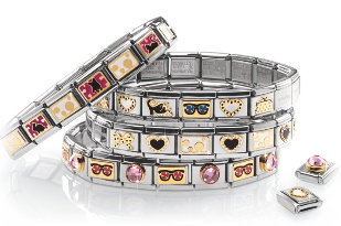 bracelet italien nomination le carre d or